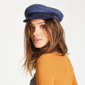 NWT Brixton Navy Fiddler Hat